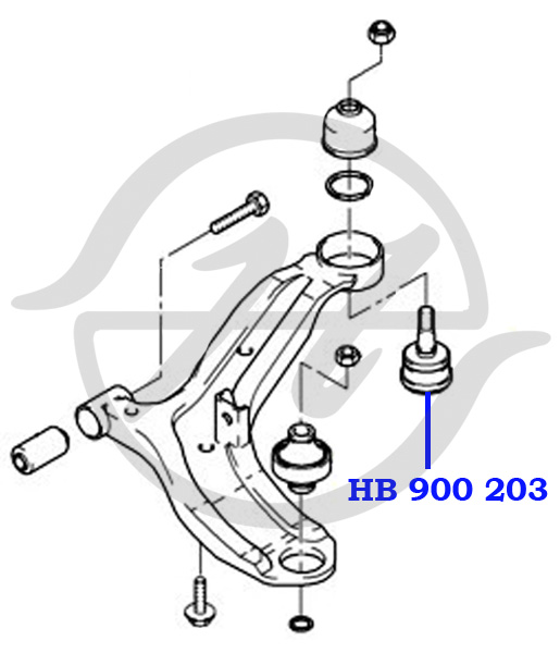 No HANSE: HB 900 203 Опора