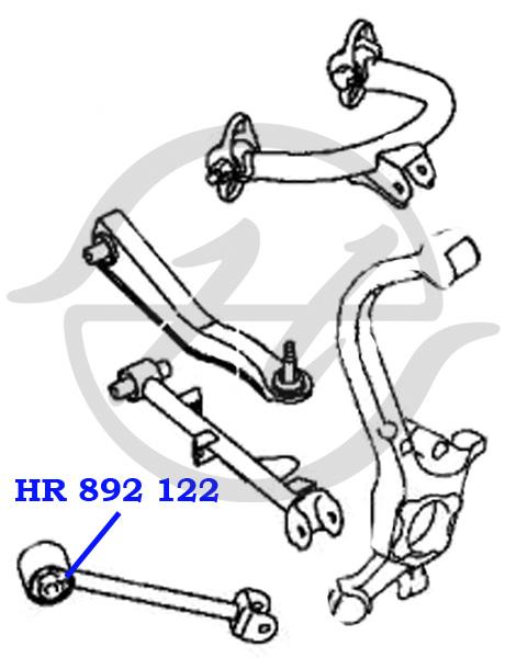 No HANSE: HR 892 122