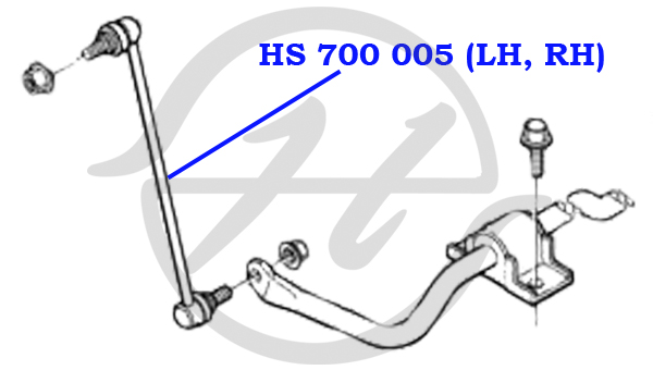 No HANSE: HS 700 005 Тяга